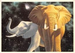 BF38616 The Twinlight Time  Schimm Schimmel  Elephant Elepahnt  Animal Animaux - Elefantes