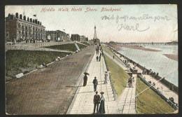 BLACKPOOL Middle Walk North Shore 1906 - Blackpool