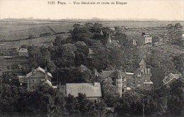 CPA PUYS - VUE GENERALE ET ROUTE DE DIEPPE - France