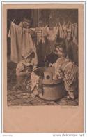 AK - Kunstkarte H. Kaulbach - Grosse Wäsche 1924 - Szenen & Landschaften