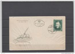 Ersttagsbrief 1952 - Geburtstag Franz Nikolaus Lenau - FDC