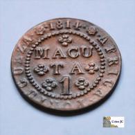 Angola - 1 Macuta - 1814 - Angola