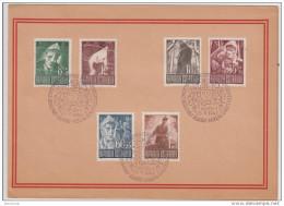 Sonderpostmarken Österr. Kriegsgefangener 1947 Im Folder - Sonderstempel - 1945-.... 2. Republik