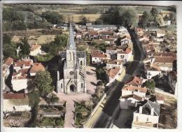 TARTAS 40 - Vue Générale : Quartier De L'Eglise Et Route De Mont De Marsan - CPSM Dentelée GF - Landes - Tartas