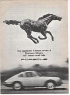 1967 - PORSCHE  -  1  Pag. Pubblicità Cm.13x18 - Cars