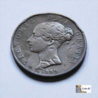 Isla De Man - 1/2 Penny - 1839 - Colonias