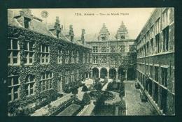 BELGIUM  -  Antwerp  Cour De Musee Plantin  Vintage Postcard  Unused As Scan - Antwerpen