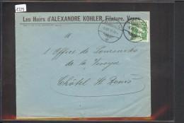 SUISSE - VEVEY - ALEXANDRE KOHLER - FILATURE - Briefe U. Dokumente