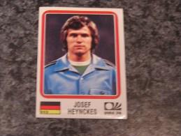 Allemagne JOSEF HEYNCKES World Cup Story 1974 Germany 74 PANINI Original Sticker N° 75 Vignette Autocollante - Edition Française