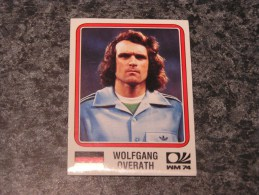 Allemagne WOLFGANG OVERATH World Cup Story 1974 Germany 74 PANINI Original Sticker N° 69 Vignette Autocollante - Panini