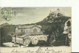 POR48   ---  SINTRA  --  CHALET EDLA E CASTELLO DA PENA  --  1903 - Lisboa