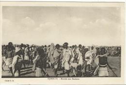 Carte Postale Ancienne Djibouti - Marché Aux Bestiaux Commerces - Djibouti
