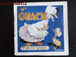 """ THE MR. BROOKS "" Mr QUACK BY LAWSON WOOD DUCK F. WARNE § COMPANIE LIVRE D'ENFANT CHILDREN BOOK - Books, Magazines, Comics"