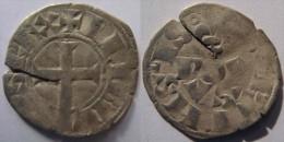 Ile-de-France Paris ? 1311 (denier) Bourgeois Simple - Très Rare Variété Au Marteau - Philippe IV Le Bel - 987-1789 Royal