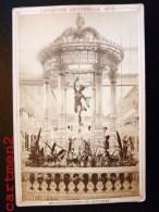 PARIS EXPOSITION UNIVERSELLE 1878 CRISTALLERIE DE BACCARAT LUSTRE CRISTAL E. ZIEGLER EDITEUR PHOTOGRAPHE - Expositions