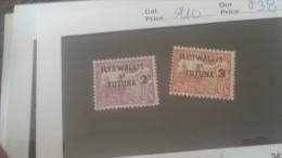 LOT 235788 TIMBRE DE COLONIE WALLIS NEUF* N�9/10 VALEUR 38 EUROS