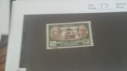 LOT 235789 TIMBRE DE COLONIE WALLIS NEUF* N�59 VALEUR 40 EUROS
