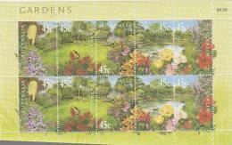 Australia 2000 Gardens Sheetlet MNH - Sheets, Plate Blocks &  Multiples