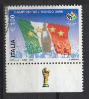 ITALIA  2006  Campioni Del Mondo    Usato / Used - 2001-10: Usati