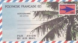 AEROGRAMME POLYNESIE FRANCAISE RF (68f) - Aérogrammes