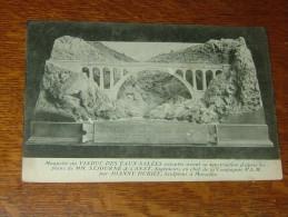 L´ESTAQUE PLAGE : Maquette Du Viaduc Par Joanny DUBIEF .................. ER-1112 - L'Estaque