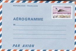 AEROGRAMME CONCORDE (2.10) - Documentos Del Correo