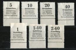 7398x  Austria Graz Gebuhrenzettel  1947-48  Michel#1 *  (michel- €20.)  Offers Welcome - 1945-60 Ongebruikt