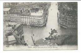 75/ PARIS.. INONDATIONS De PARIS 1910... Rue De Lyon Prise De La Tour De L'Horloge - Alluvioni Del 1910