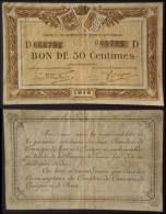 Bretagne Finistère Quimper Et Brest 0,50 Fr Série D, 1918, WW1, WWI, Emergency Notes - Chambre De Commerce
