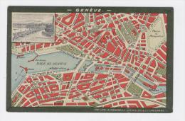 PLAN DE GENEVE  - La Légende Derrière Indique Tous Les Endoits De La Ville - 1567 / A - GE Geneva