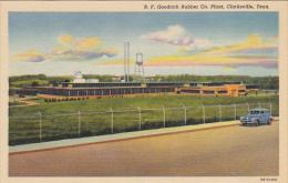 Tennessee Clarksville B F Goodrich Rubber Company Plant Curteich - Clarksville
