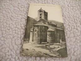 A221. CPA. 09  Environs D'AX-LES-THERMES. Eglise Romane D'UNAC.  Beau Plan . Non  Ecrite - Ax Les Thermes