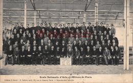 ECOLE  NATIONALE D'ARTS Et METIERS De PARIS - PROMOS 112 - 115 -ecrite 1913 -  2 Scans - Enseignement, Ecoles Et Universités