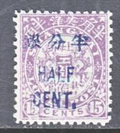 CHINA  SHANGHAI  143    * - Unused Stamps