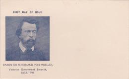 Australia 1948 Von Muller Mint Card - FDC
