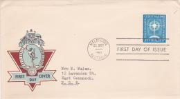 Australia 1963 Christmas Addressed Post Office FDC - FDC