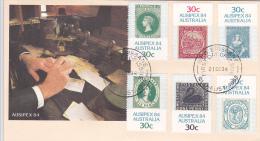 Australia 1984 Ausipex Post Office FDC - Premiers Jours (FDC)
