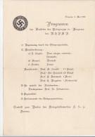 PROGRAMME MUSICAL  LES SS ALLEMANDS A BERGAME (ITALIE)  MAI 1940 - Programmes