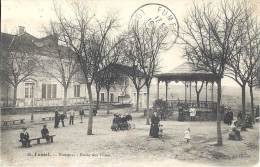 47 - FUMEL - Lot-et-Garonne - Le Kiosque - Ecole Des Filles - Fumel
