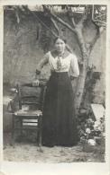 A Identifier: Probablement Félicie Turc - Drôme - Photo R. Guilleminot - Généalogie