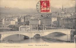Genève - Vue Prise De Saint-Jean -Pont De La Coulouvrenière - GE Genève