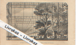 Londres, London, Hyde Park, Crystal Palace, Palais De Cristal, Vue Partielle, Gravure Parue En 1851, Dessin De Freeman - Vieux Papiers