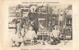 Birmanie - Mandalay - Les Orphelins De L'Atelier De Tissage - Soeurs Saint-Joseph De L'Apparition - Missions