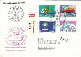 Trains - Santé - Maladies - Malaria - Sports - Aviron - Suisse - Lettre Recommandée De 1962 - Svizzera