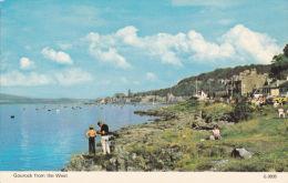 GOUROCK FROM THE WEST - Renfrewshire