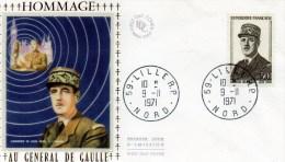 CHARLES DE GAULLE  - Lille - De Gaulle (General)
