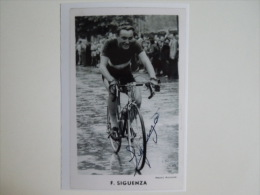 CYCLISME CICLISMO RADSPORT WIELRENNEN : Francis SIGUENZA Reproduction - Cycling