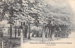 45 ORLEANS - Maison Mère Ses Soeurs De Saint St AIGNAN (2) Vue Des Jardins 20 Rue St Marc  (Religion)  *PRIX FIXE - Orleans