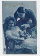 VIVE STE CATHERINE - JEUNE COUPLE AVEC BOUQUET DE ROSES   /1582A - Zonder Classificatie