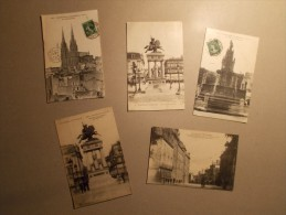 Lot 5 Cartes Postales CPA - CLERMONT FERRAND (63) - (10) - Clermont Ferrand